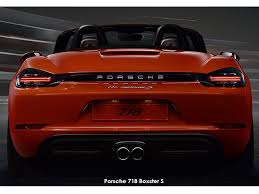 price of a porsche boxster scoop porsche 718 boxster and boxster s prices specs for