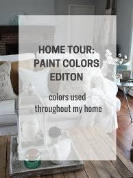 paint colors in my home the rustic life