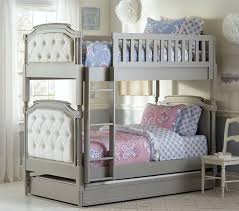 Pottery Barn Kids Headboard This Grand Bunk Bed Sleeps Two Children In Comfort And Style