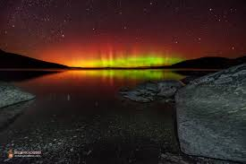 can you see the northern lights in maine northern lights over maine s moosehead lake a sight to behold