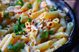 Pasta Recipes Buffalo Chicken Cheesy Pasta Recipe Budget Savvy Diva