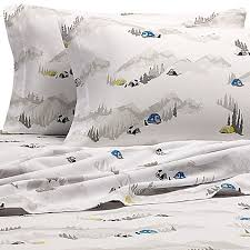 Bed Bath And Beyond Flannel Sheets Eddie Bauer Base Camp Flannel Sheet Set In White Bed Bath U0026 Beyond