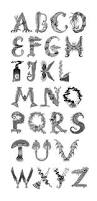 spirit halloween sarasota halloween alphabet photo album scary halloween alphabet letters