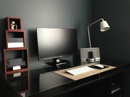 best 25 pc desks ideas on pinterest throughout minimalist computer