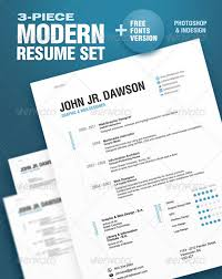 resume with photo template green resume template free vector