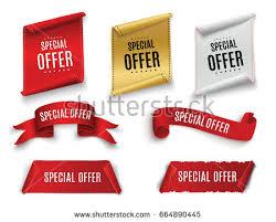 discount ribbon seasonal sale and discount badges free vector