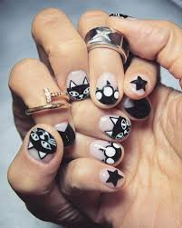 black and white nail designs best art ideas for you