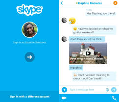 skype android app skype for android 5 5 update brings easy login and url preview