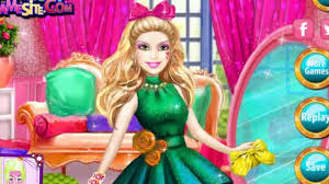 barbie play game