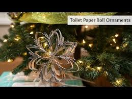 toilet paper roll ornament youtube