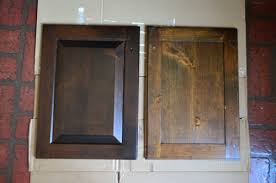 can kitchen cabinets be stained darker using polyshades to darken our wood cabinets house