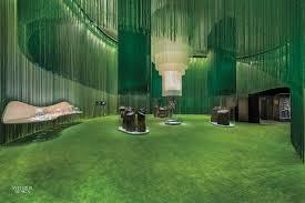 Interior Green Entertainment Interior Design Projects