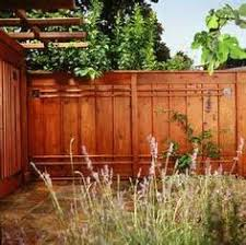 Backyard Fence Styles by Redwood Fence With Lattice Top Backyard Pinterest Backyard