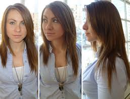 clip in hair extensions before and after how to clip in hair extensions in 9 simple steps