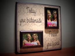 wedding gift for best friend custom best friends wedding picture frame of honor