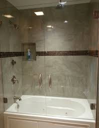 Half Shower Doors Bathtubs Wonderful Pivot Shower Door Bathtub 47 Bathroom Tile