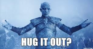 White Walker Meme - white walker king was misunderstood meme on imgur