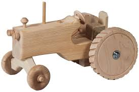 amish wooden toy tractor wooden toys tractor and toy