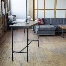 solid wood table standing desk urban wood goods