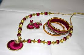 necklace making chains images Silk thread jewelry making jpg
