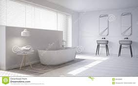 Minimalistic Interior Design Scandinavian Bathroom White Minimalistic Interior Design Abstr