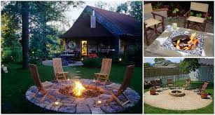 Cool Firepits Pit Plans Catchy 40 Diy Pit For Your Backyard F