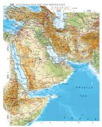A Map Of The Middle East by Maps Of Saudi Arabia Detailed Map Of Saudi Arabia In English
