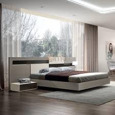 chambre contemporaine design adulte contemporaine design moderne chêne et laque pietra