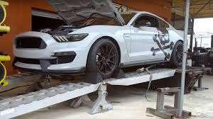 ford mustang supercharged a supercharged ford mustang shelby gt350 unleash hell on the