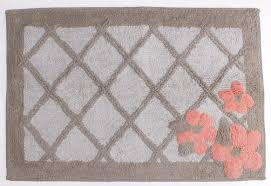 saturday knight coral garden bath mat u0026 reviews wayfair
