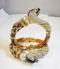 design bangle bracelet images Peacock bangle designs shweta jewelry jpg