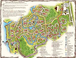 Port Orleans Riverside Map Walt Disney World Maps Wdw Planning