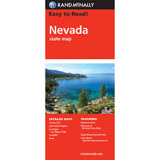 Lake Mead Map Rand Mcnally Folded Map Nevada