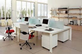 Office Desing Love These Simple Non Cubicle Workstations Office Design Ideas