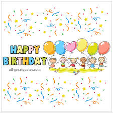birthday cards for kids happy birthday animated birthday card