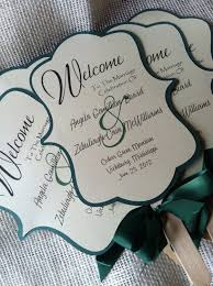 Rustic Wedding Program Fans 100 Wedding Ceremony Fans Binder U2013 Laundry In