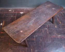 antique wooden bench seat antique bench etsy