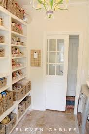 combination pantry and laundry room off the kitchen notice a