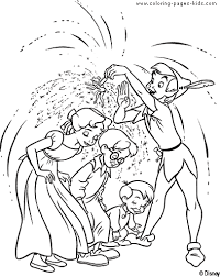 peter pan coloring pages coloring pages kids disney