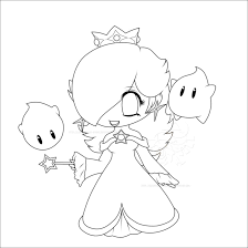 zelda coloring page anime coloring pages chibi rosalina lines by lady zelda of