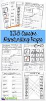 best 25 cursive handwriting practice ideas on pinterest