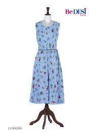 light blue gray color neeru s light blue color rayon fabric frock online