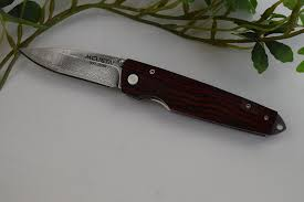 Mcusta Kitchen Knives Mcusta Gentelman U0027s Folder W Clip Rosewood Damascus Mc 54dr