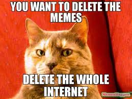 Which Internet Meme Are You - you want to delete the memes delete the whole internet meme