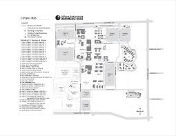 Phoenix College Campus Map by Map Of California State University Dominguez Hills Central