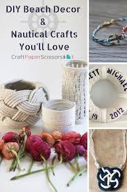 Diy Nautical Decor Need Vitamin Sea Diy Beach Decor U0026 Nautical Crafts You U0027ll Love