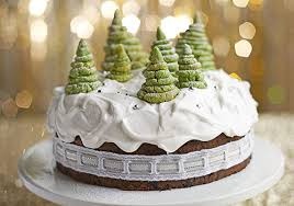 Christmas Baking Decorations Uk by How To Decorate A Christmas Cake Bbc Good Food