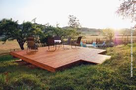 raised cedar deck real cedar