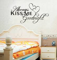 always kiss me good nite removable sticker good night pinterest