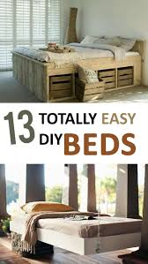 13 totally easy diy beds